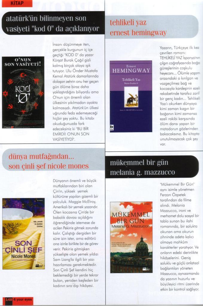 4YourEyes Dergisi