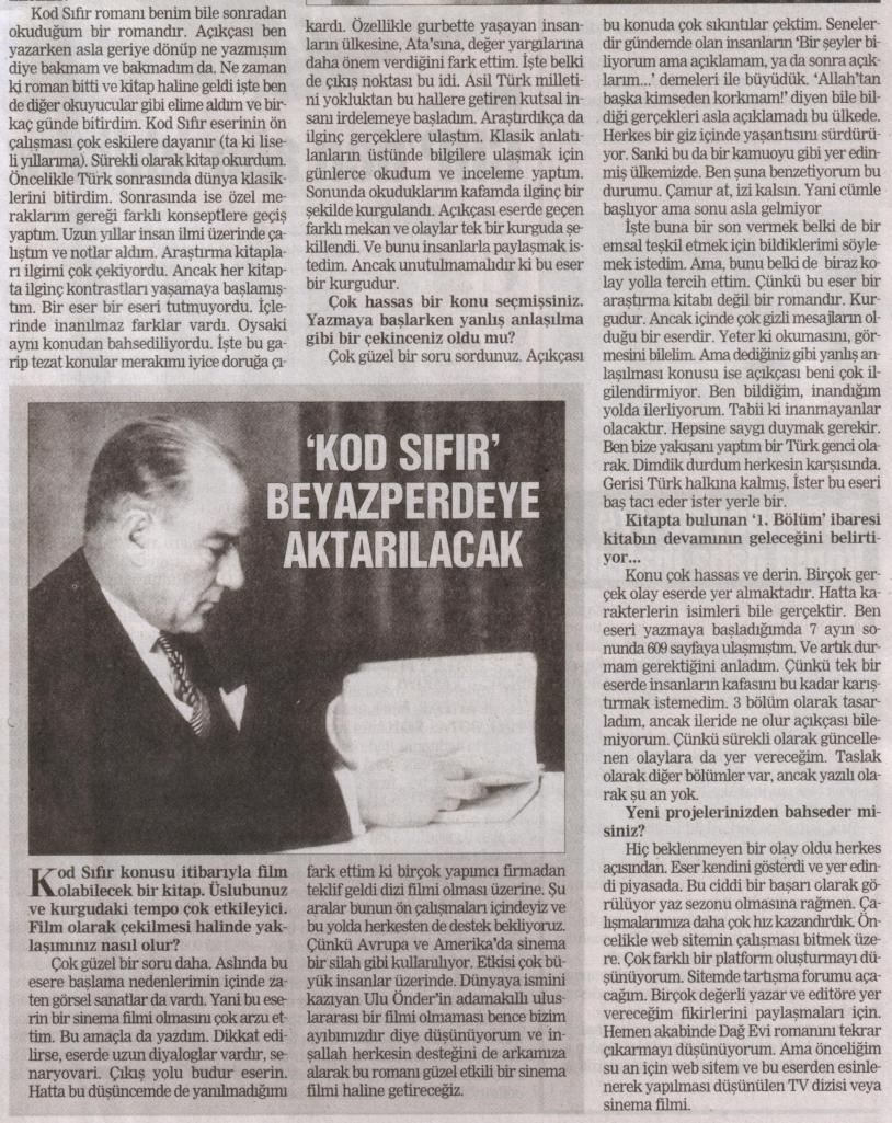 Olay Gazetesi 17 Eylül 2008